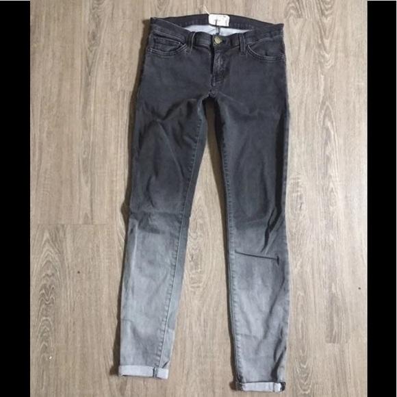 Current/Elliott Denim - Current Elliot Women's Gray Ombré Jeans 28